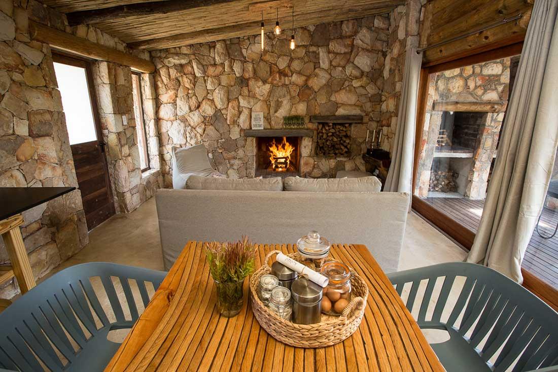 Kolkol Log Cabin Accommodation In The Overberg South Africa